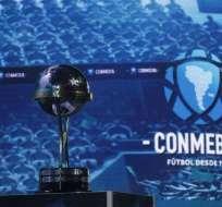 Lo rivales de los equipos ecuatorianos se revelaron en sorteo de la Sudamericana. Foto: Twitter Conmebol Sudamericana.