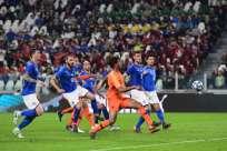 Los equipos europeos igualaron 1-1 en partido jugado en Turín. Foto: MIGUEL MEDINA / AFP
