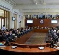 """La OEA aprueba tratar la """"situación en Venezuela"""" en su asamblea anual. Foto: Archivo"""