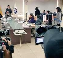 Consejo de Participación transitorio aprobó reglamento para elegir nuevas autoridades de control. Foto: Twitter Cpccs