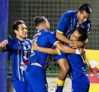 MANTA, Ecuador.- Desde que Bustos ingresó al cuadro 'Cetáceo', el equipo ha ganado 6 de 7 partidos disputados. Foto: @DelfínSC