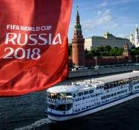 El evento deportivo comenzará el próximo 14 de junio en Moscú. Foto: Mladen ANTONOV / AFP