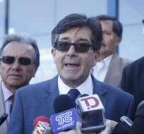 Montúfar rinde versión por denuncia contra Correa en caso Odebrecht. Foto: API