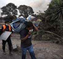 La Fiscalía investiga posible negligencia al no evacuar a tiempo. - Foto: AFP