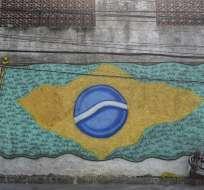 "El Ministerio de Deporte y cancillería emitieron la ""Guía Consular do Torcedor Brasileiro"". Foto: Fabio TEIXEIRA / AFP"
