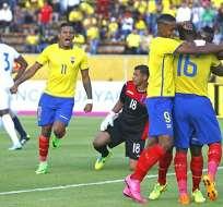 El ranking FIFA ubicó a la selección ecuatoriana en el puesto 60 de 206 equipos. Foto: API