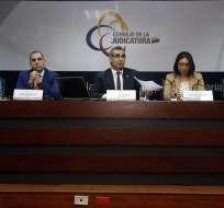 Cpccs transitorio cesó a Gustavo Jalkh y el resto de vocales del CJ. Foto: API