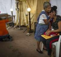 La furia desatada por el Volcán de Fuego cobró al menos 109 vidas.  Foto: AP