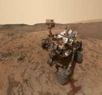 Curiosity lleva a bordo un laboratorio para medir la química de la atmósfera.