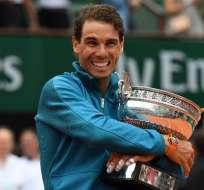 Nadal está a tres títulos de igualar a Roger Federer.  Foto: AFP