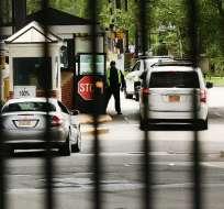 Pablo Villavicencio fue arrestado cuando iba a entregar una pizza a una base del Ejército en Brooklyn. Foto: AFP