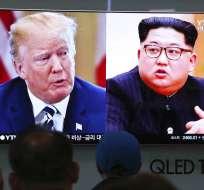 Encuentro es el clímax de espectacular ofensiva diplomática en torno a península de Corea. Foto: Archivo AP