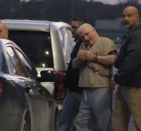 Martinelli salió de Miami rumbo a Panamá. Foto: AFP