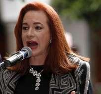 Moreno acepta renuncia de María Fernanda Espinosa. Foto: Archivo - Ecuavisa