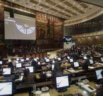 42 asambleístas intervinieron este martes; sesión del Pleno fue suspendida. Foto: Archivo API