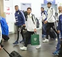 El organismo también realizó el examen a otros 5 jugadores de Argentina. Foto: AP Foto/Pavel Golovkin