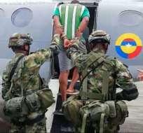 COLOMBIA.- Juan Gabriel Arizala Vernaza, alias 'Javier, es investigado por delito de delinquir agravado. Foto: Cortesía