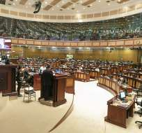 Legisladores votaron en contra de adelantar acción en contra del expresidente Correa. Foto: Flickr Asamblea.