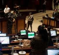 En el Legislativo se registraron 83 votos afirmativos, 2 negativos y 13 abstenciones. Foto: API