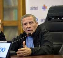 Óscar Tabárez, con 71 años, es el seleccionador más longevo del Mundial. Foto: AFP