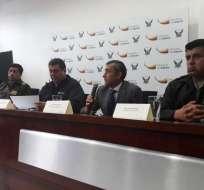 Autoridades de Seguridad confirmaron detención de Romero. Foto: Min. Interior