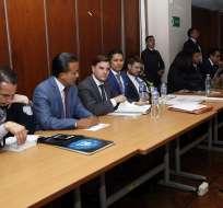 Así lo resolvió la jueza Daniella Camacho durante audiencia de vinculación en caso Balda. Foto: API