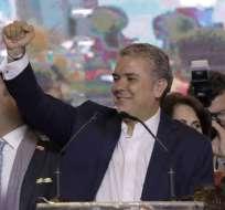 """El presidente electo de Colombia tachó de """"dictadura"""" al gobierno de Nicolás Maduro.  - Foto: AFP"""