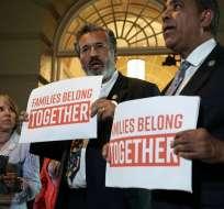 Trump enfrenta críticas desde la propia bancada republicana en el Congreso estadounidense. - Foto: AFP