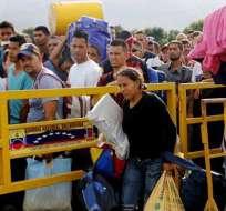 La crisis humanitaria de Venezuela es una de las preocupaciones de la Cancillería. Foto: Tomado de La Patilla.