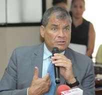 Oficialismo y oposición consideran que Correa debe tener garantías del debido proceso. Foto: Archivo API