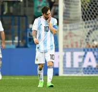 Los 'albicelestes' cayeron 3-0 ante los europeos y están cerca de la eliminación. Foto: Martin BERNETTI / AFP