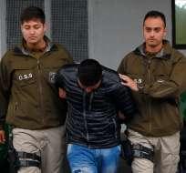 Los ecuatorianos fueron detenidos tras asesinar a golpes a una chilena. - Foto: LaNación