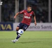 El delantero ecuatoriano firmó un contrato por dos temporadas. Foto: Tomada de estadio.ec