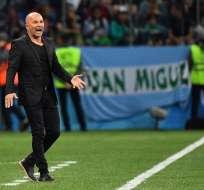 La derrota ante Croacia (3-0) habría causado inconformidad entre los jugadores y el seleccionador. Foto: AFP