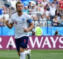 NIZHNI NÓVGOROD, Rusia.- Harry Kane recientemente renovó contrato con el Tottenham por 6 años. Foto: AFP