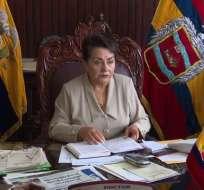 LOJA, Ecuador.- La actual vicealcaldesa asume el Cabildo hasta marzo de 2019, fecha de comicios seccionales. Foto: Archivo