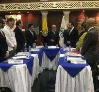 MACHALA, Ecuador.- El Consejo transitorio remitirá informes sobre evaluación al CNE y a Super de Bancos. Foto: Twitter
