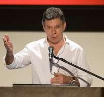 COLOMBIA.- El mandatario de Colombia cree que el pacto sobrevivirá pese a las críticas de Duque. Foto: AFP