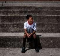Los niños que se están quedando sin padres en Venezuela por culpa del éxodo provocado por la crisis.
