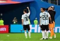 El argentino hizo uno de los dos goles ante Nigeria. Foto: Giuseppe CACACE / AFP