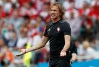 El entrenador argentino llegó al combinado 'incaico' en 2015. Foto: Adrian DENNIS / AFP