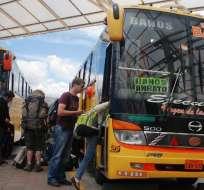 69 operadoras de transporte son evaluadas por la ANT. Foto: Archivo