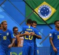 Brasil se enfrentará a Serbia a las 13:00 (hora de Ecuador). Foto: AFP
