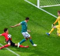 KAZÁN, Rusia.- Los dos goles llegaron a los últimos minutos del cotejo. Foto: AFP
