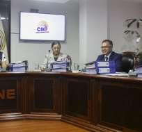ECUADOR.- La evaluación al CNE se definirá en audiencia pública, organizada por el Consejo transitorio. Foto: API
