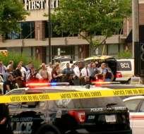 El jueves ocurrió una matanza en la redacción del diario The Capital Gazette. - Foto: CNN