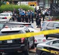 EE.UU.- Cuatro de los fallecidos eran periodistas; la quinta era asistente de ventas del diario. Foto: Agencias