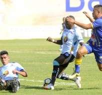 El partido se jugó en el estadio Jocay de Manta. Foto: API