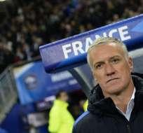 El entrenador francés fue campeón del mundo en 1998. Foto: Archivo/AFP
