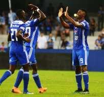 Los 'azules' superaron 2 por 1 a los 'citadinos' en el estadio George Capwell. Foto: API
